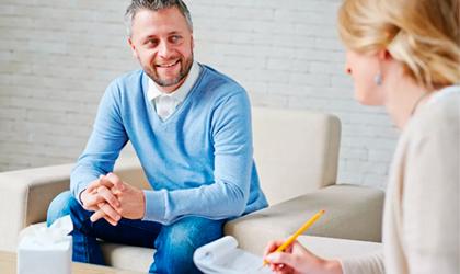 Работа с психотерапевтом – Алковит
