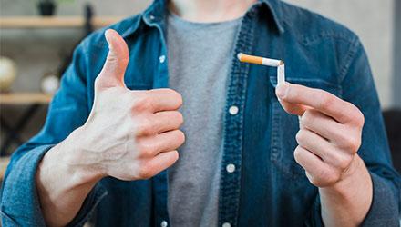 Отказаться от табакокурения – Алковит
